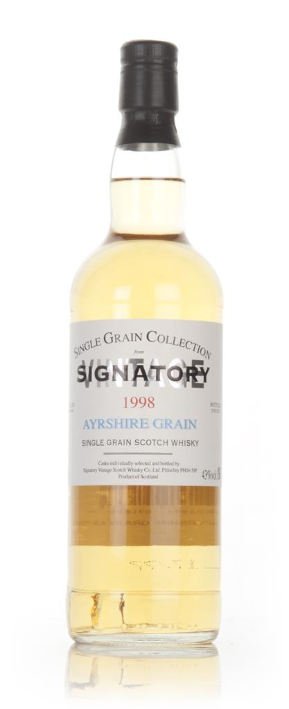 Ayrshire 18 Year Old 1998 - Single Grain Collection (Signatory) Grain Whisky