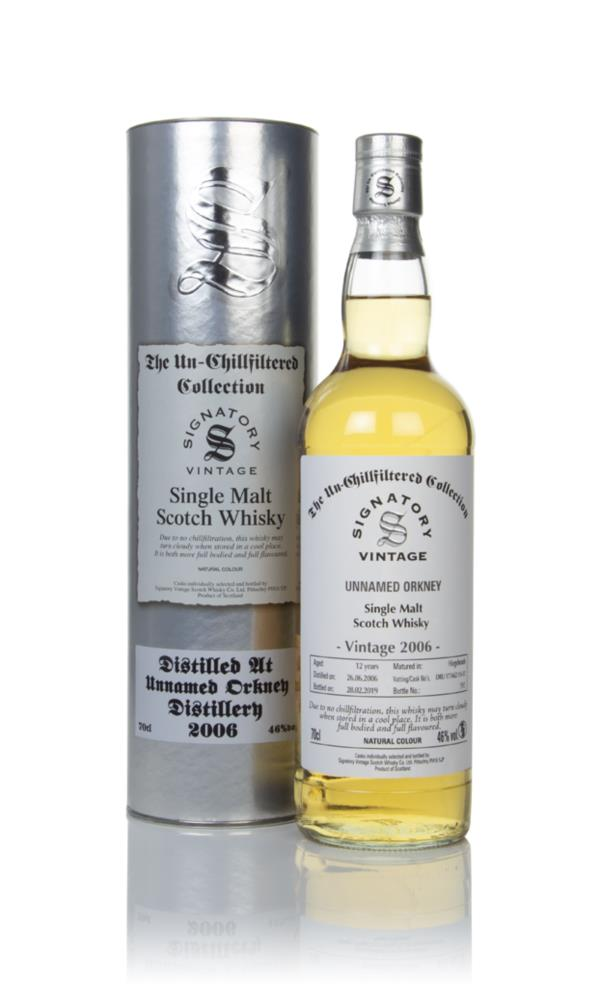 Unnamed Orkney 12 Year Old 2006 (casks 17/A62 11 & 12) - Un-Chillfilte Single Malt Whisky