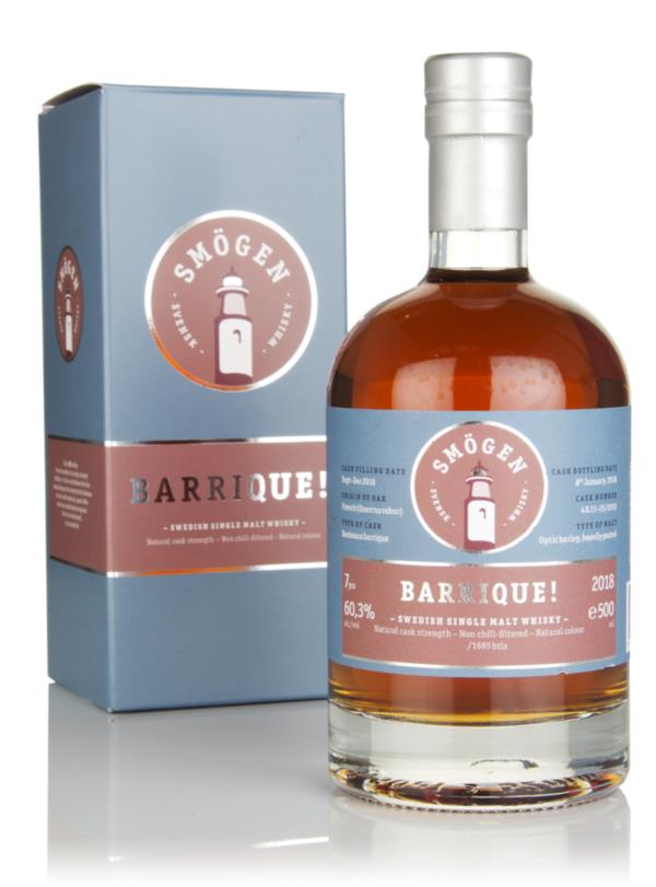 Smogen 7 Year Old 2010 - Barrique! Single Malt Whisky