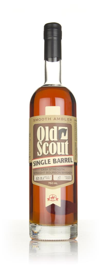 Smooth Ambler Old Scout 11 Year Old (cask 9498) Single Barrel Release Rye Whiskey 3cl Sample