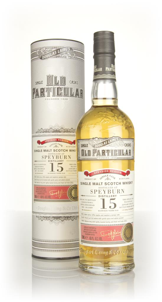 Speyburn 15 Year Old 2003 (cask 12389) - Old Particular (Douglas Laing Single Malt Whisky