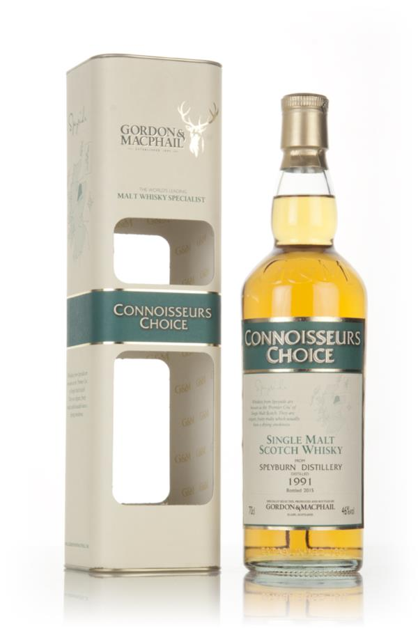 Speyburn 1991 (bottled 2015) - Connoisseurs Choice (Gordon & MacPhail) Single Malt Whisky
