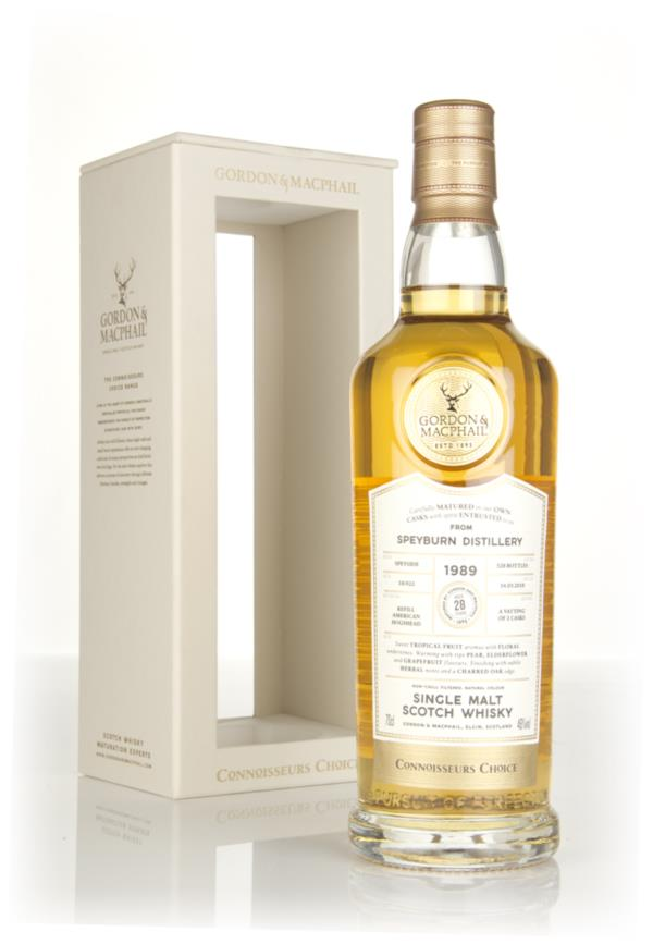 Speyburn 28 Year Old 1989 - Connoisseurs Choice (Gordon & MacPhail) Single Malt Whisky