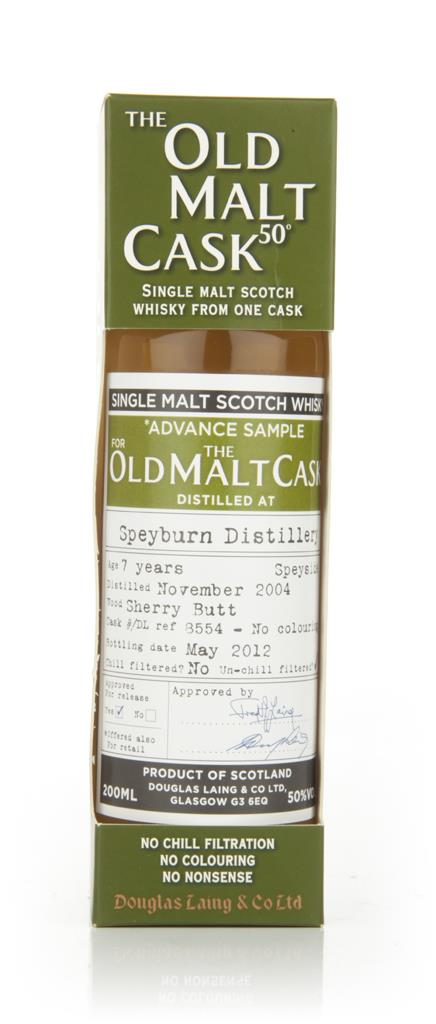 Speyburn 7 Year Old 2004 - Old Malt Cask (Douglas Laing) Single Malt Whisky