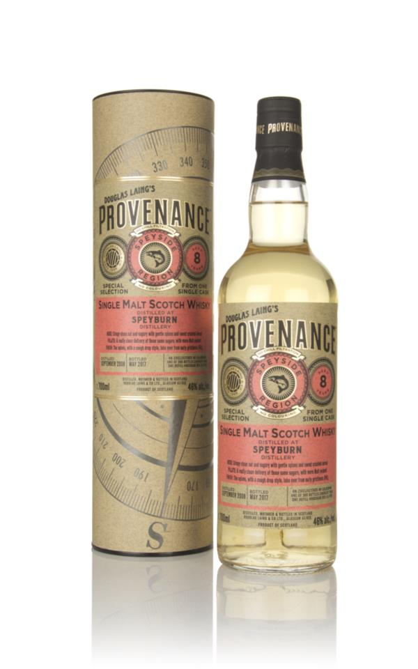 Speyburn 8 Year Old 2008 (cask 11785) - Provenance (Douglas Laing) Single Malt Whisky