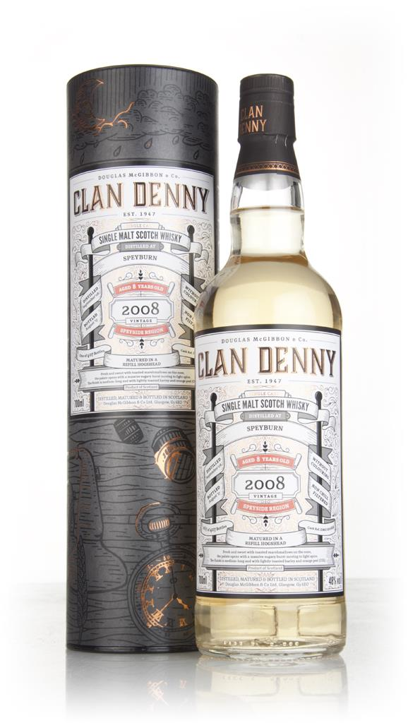 Speyburn 8 Year Old 2008 (cask 12068) - Clan Denny (Douglas Laing) Single Malt Whisky