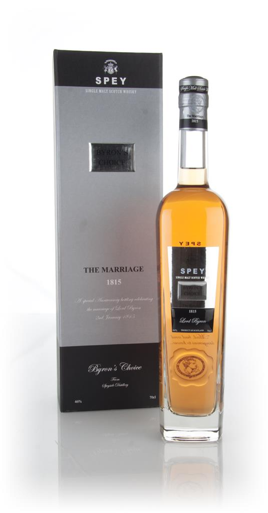 SPEY Byrons Choice The Marriage Single Malt Whisky