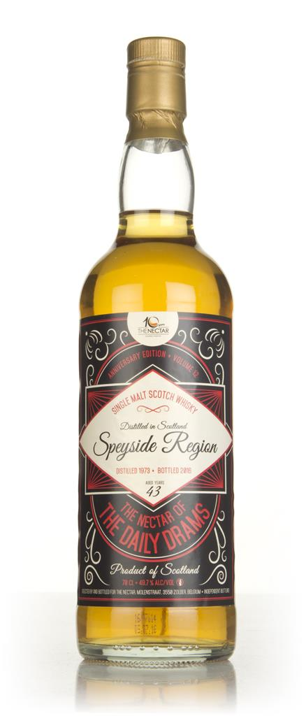 Speyside Single Malt 43 Year Old 1973 - The Nectar of the Daily Drams Single Malt Whisky