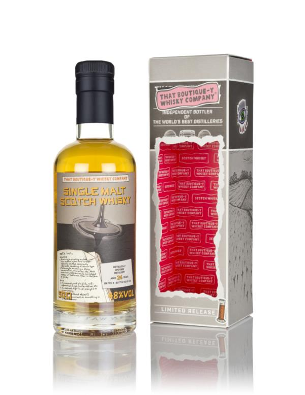 Speyside 26 Year Old (That Boutique-y Whisky Company) Single Malt Whisky