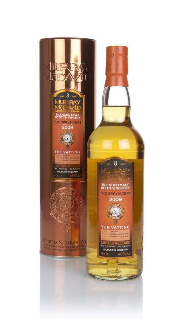 The Speysiders 8 Year Old 2009 - The Vatting (Murray McDavid) Blended Malt Whisky