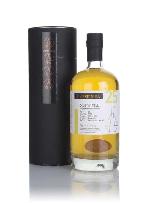 Give n Tell 25 Year Old 1992 - Spirit Still Single Malt Whisky