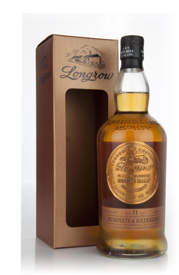 Longrow 11 Year Old 2001 - Rundlets and Kilderkins Single Malt Whisky