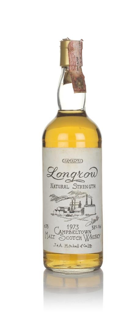 Longrow 1973 - Natural Strength (Samaroli) Single Malt Whisky