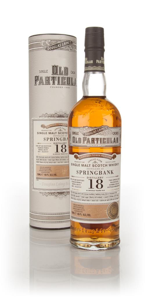Springbank 18 Year Old 1996 (cask 10737) - Old Particular (Douglas Lai Single Malt Whisky