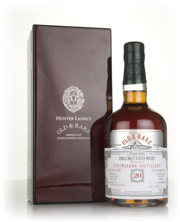 Springbank 20 Year Old 1996 - Old & Rare Platinum (Hunter Laing) Single Malt Whisky