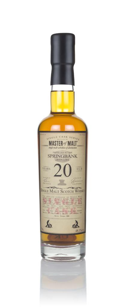 Springbank 20 Year Old 1998 - Single Cask (Master of Malt) Single Malt Whisky