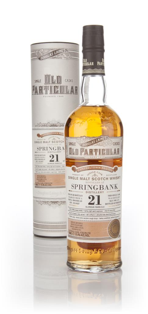 Springbank 21 Year Old 1993 (cask 10527) - Old Particular (Douglas Lai Single Malt Whisky 3cl Sample