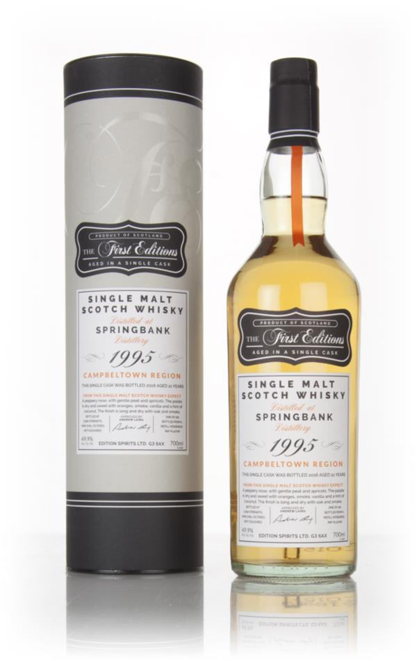 Springbank 21 Year Old 1995 (cask 12708) - The First Editions (Hunter Single Malt Whisky 3cl Sample