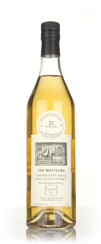 Springbank 22 Year Old 1993 (cask 227) - The Bottlers Single Malt Whisky