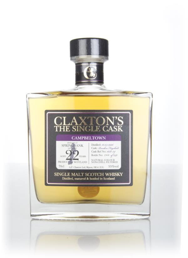 Springbank 22 Year Old 1996 (cask #1850-54) - Claxtons Single Malt Whisky