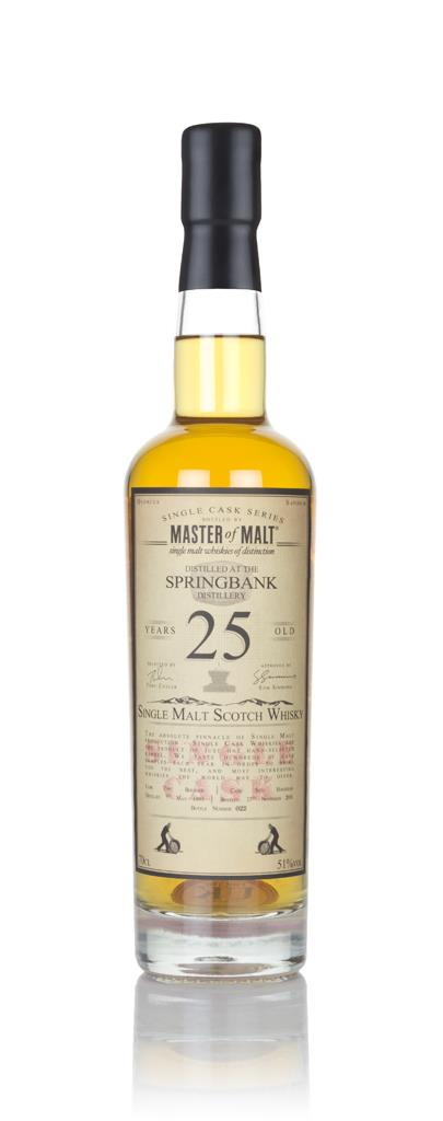 Springbank 25 Year Old 1993 - Single Cask (Master of Malt) Single Malt Whisky