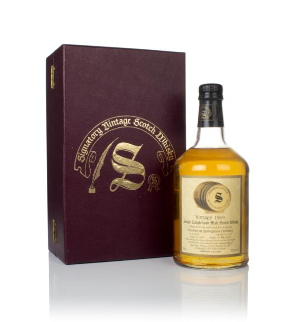 Springbank 30 Year Old 1969 (cask 1686) - Signatory Vintage Single Malt Whisky