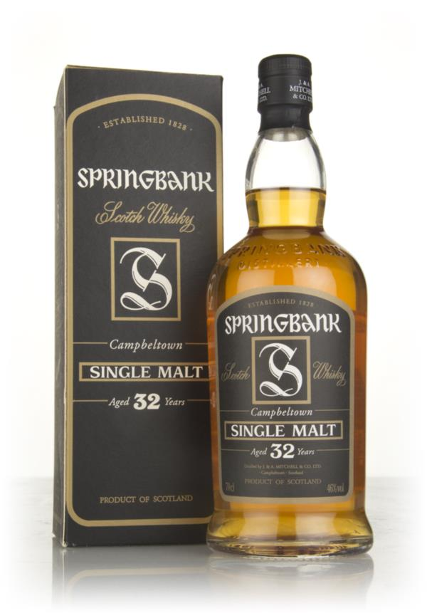Springbank 32 Year Old Single Malt Whisky
