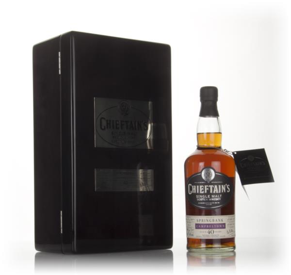 Springbank 40 Year Old 1968 (cask 1414) - Chieftains (Ian Macleod) Single Malt Whisky