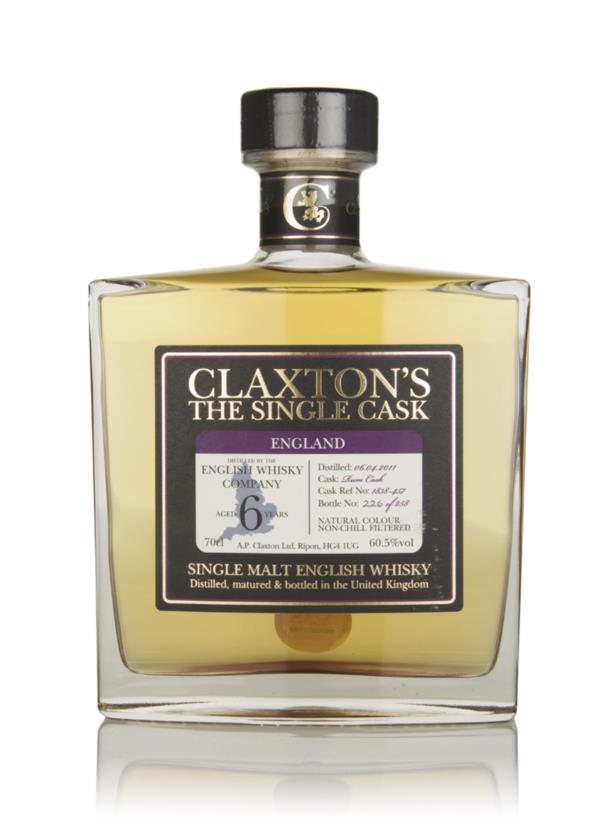 English Whisky Co. 6 Year Old 2011 - Claxtons Single Malt Whisky