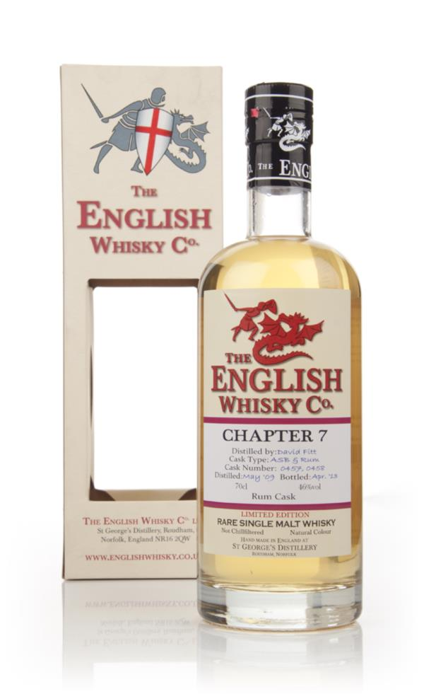 English Whisky Co. Chapter 7 Single Malt Whisky