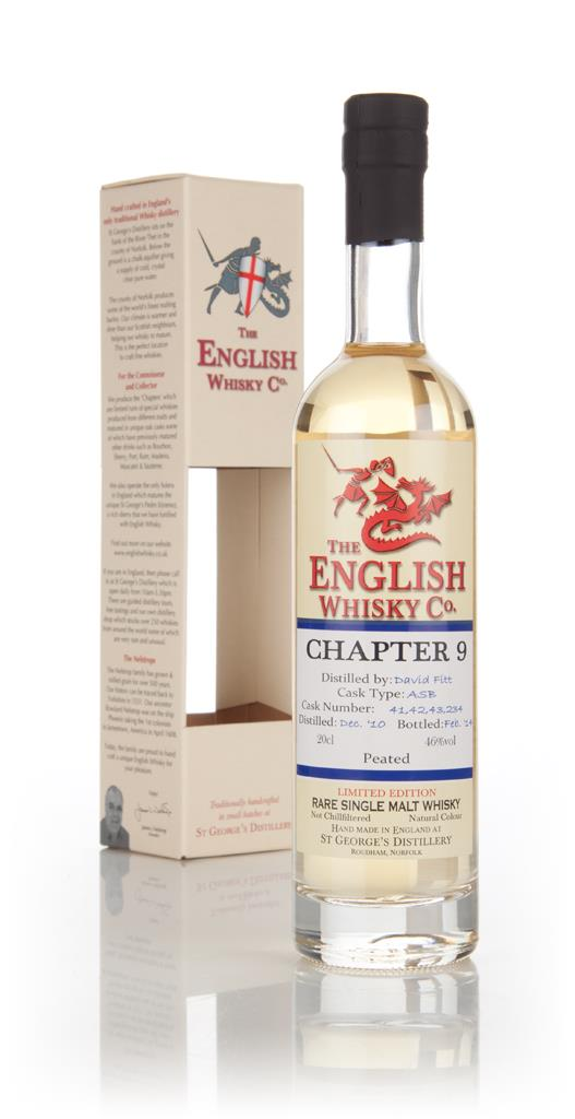 English Whisky Co. Chapter 9 20cl Single Malt Whisky