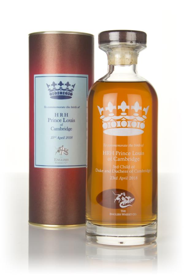 English Whisky Co. HRH Prince Louis of Cambridge Edition Single Malt Whisky