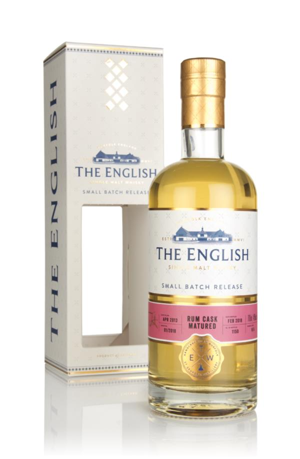 The English - Rum Cask Single Malt Whisky