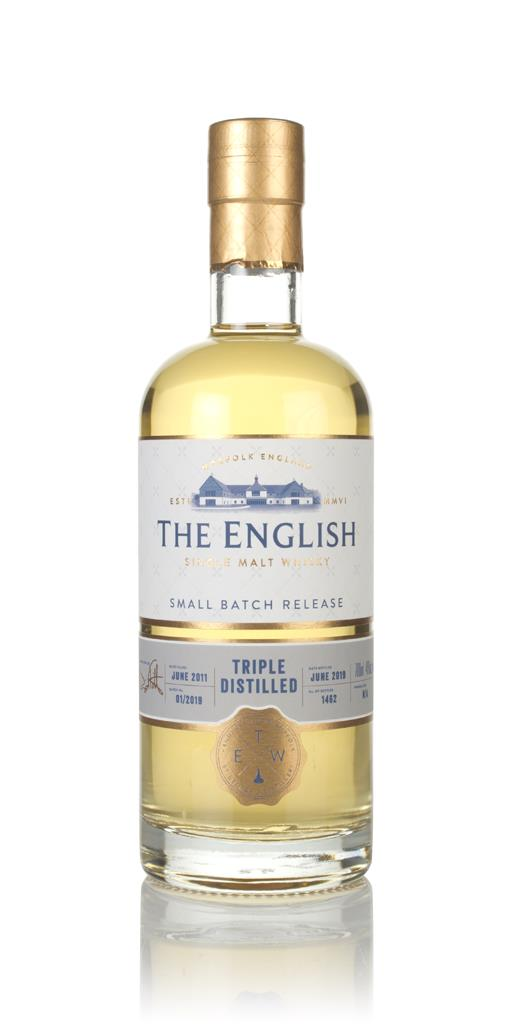 The English - Triple Distilled Single Malt Whisky