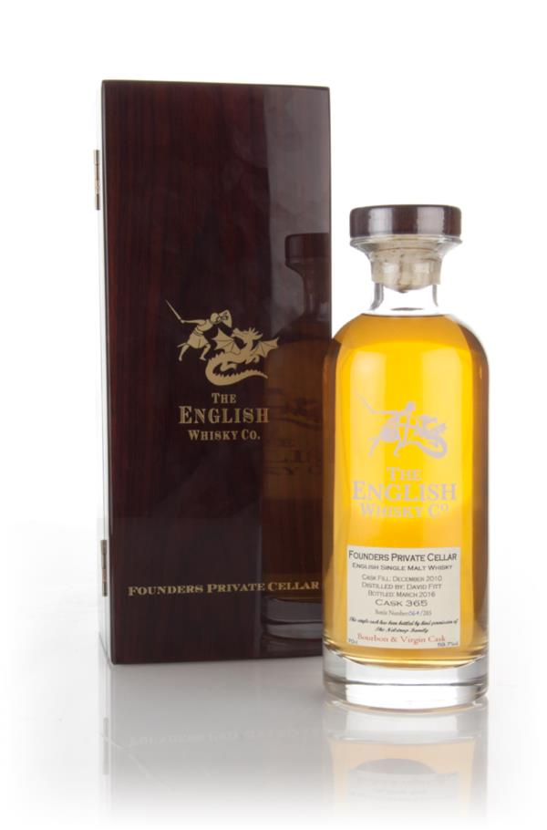 English Whisky Co. Founders Private Cellar 5 Year Old 2010 (cask 365) Single Malt Whisky 3cl Sample