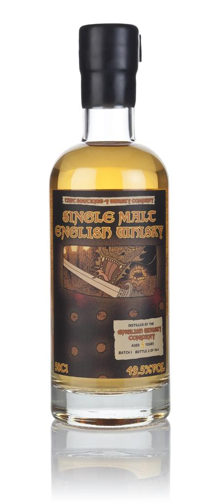 English Whisky Co. 5 Year Old (That Boutique-y Whisky Company) Single Malt Whisky