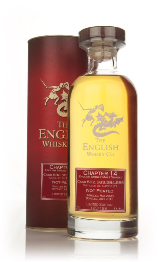English Whisky Co. Chapter 14 - Cask Strength Single Malt Whisky