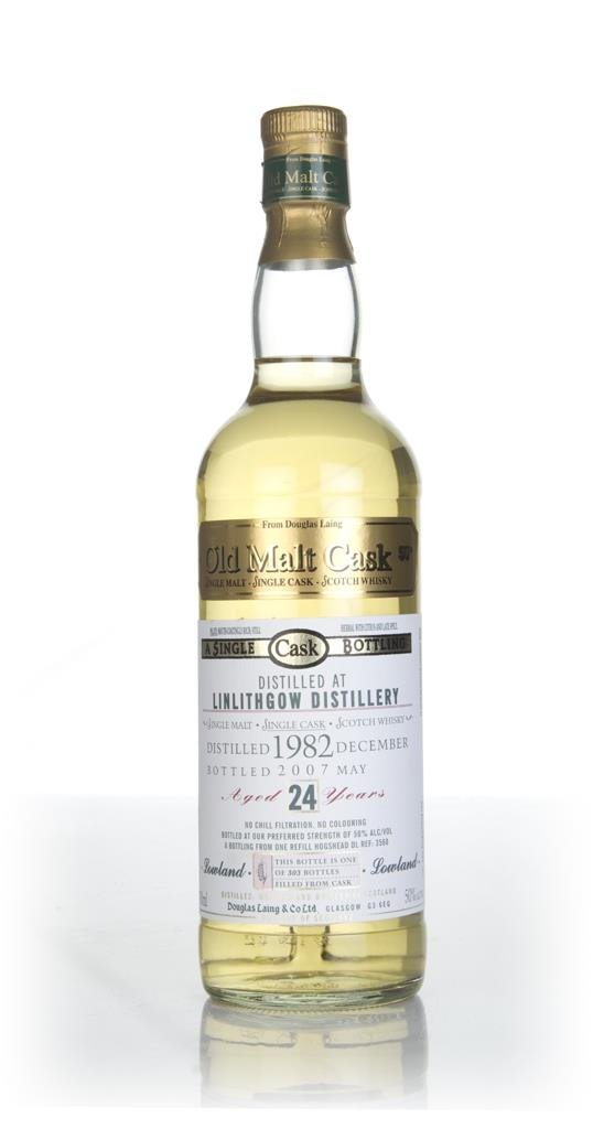 Linlithgow 24 Year Old 1982 - Old Malt Cask (Douglas Laing) Single Malt Whisky