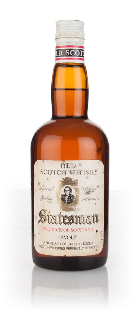 Statesman 3 Year Old - 1970s Blended Whisky