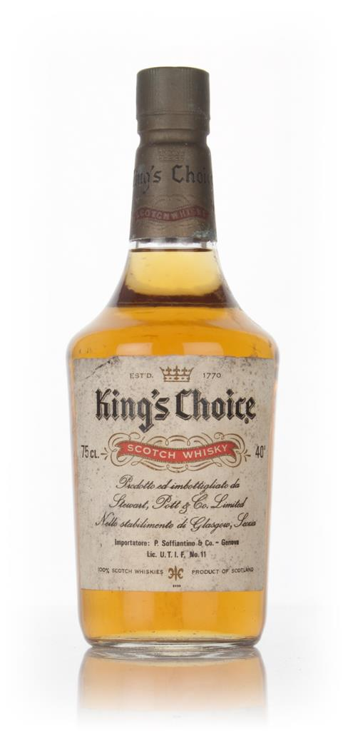 Kings Choice - 1970s Blended Whisky
