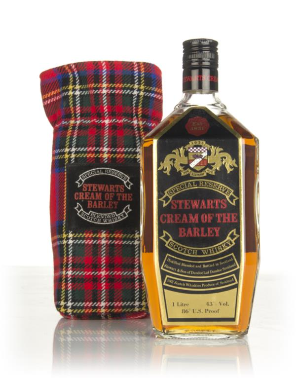 Stewarts Cream of Barley (1L) - 1970s Blended Whisky