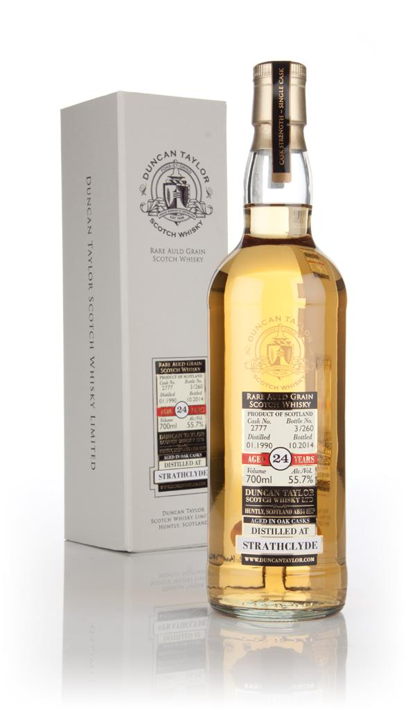Strathclyde 24 Year Old 1990 (cask 2777) - Dimensions (Duncan Taylor) Grain Whisky