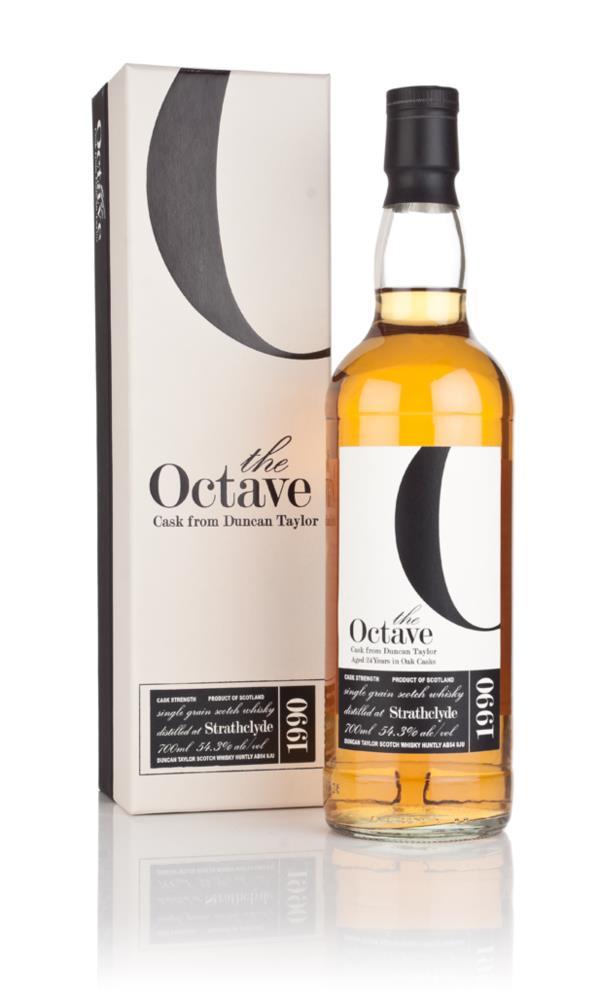 Strathclyde 24 Year Old 1990 (cask 648268) - The Octave (Duncan Taylor Grain Whisky