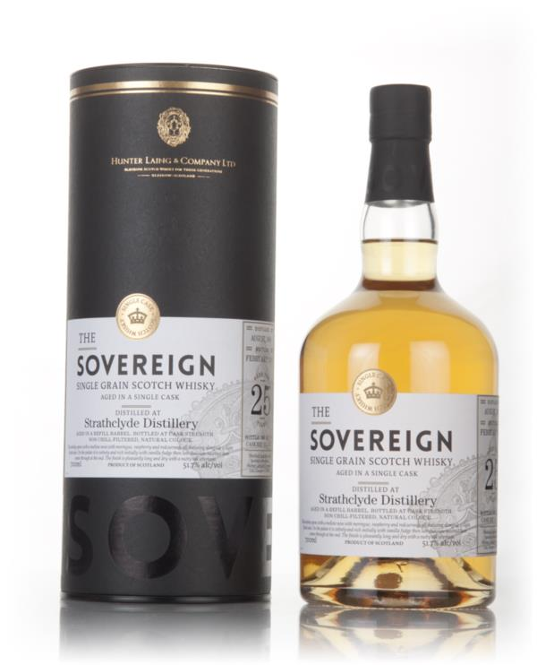 Strathclyde 25 Year Old 1990 (cask 12281) - The Sovereign (Hunter Lain Grain Whisky