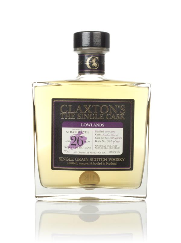 Strathclyde 26 Year Old 1992 - Claxton's Grain Whisky