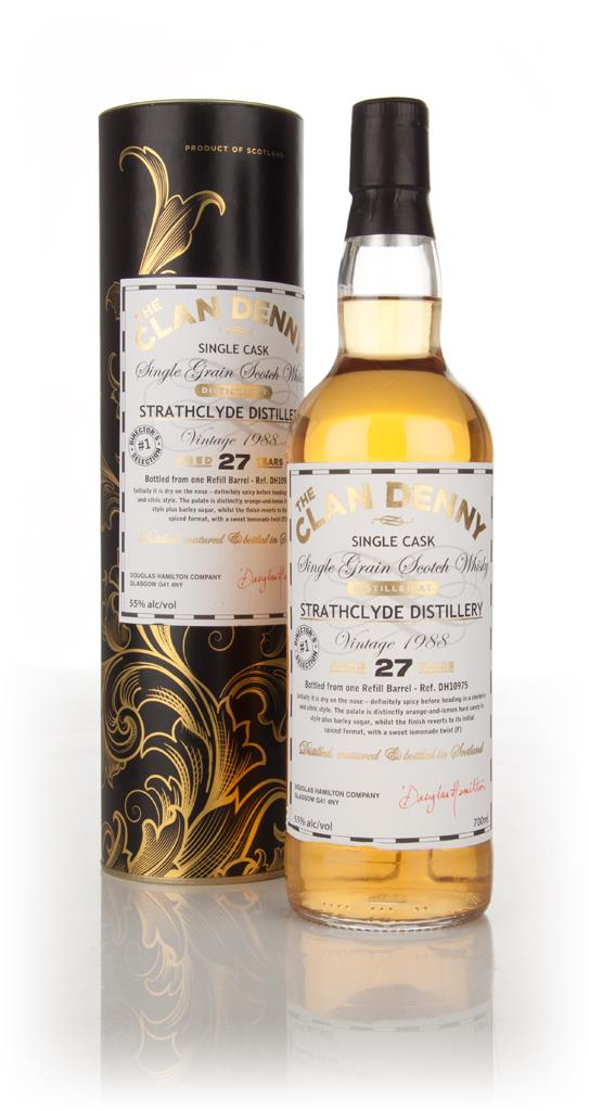 Strathclyde 27 Year Old 1988 (cask 10975) - The Clan Denny (Douglas La Grain Whisky
