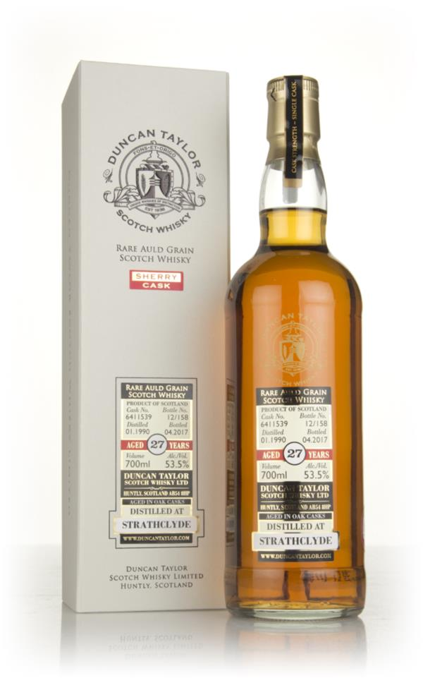 Strathclyde 27 Year Old 1990 (cask 6411539) - Rare Auld (Duncan Taylor Grain Whisky