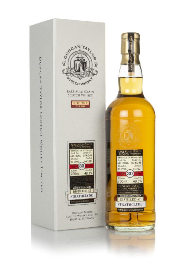 Strathclyde 30 Year Old 1990 (cask 64110096) - Rare Auld (Duncan Taylo Grain Whisky