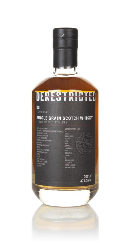 Strathclyde 30 Year Old - Derestricted Grain Whisky