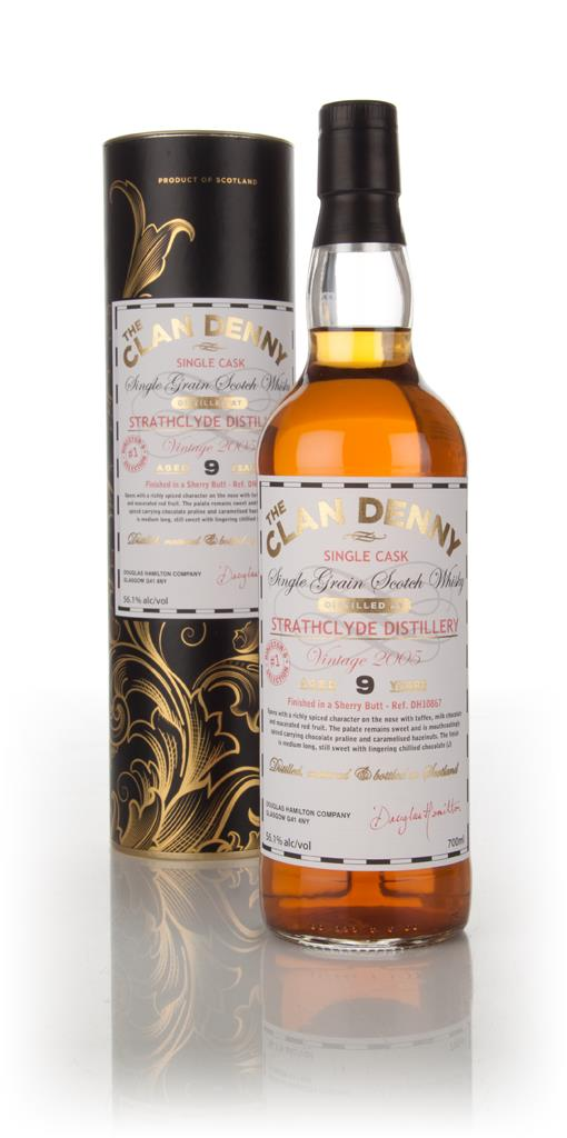 Strathclyde 9 Year Old 2005 (cask 10867) - The Clan Denny (Douglas Lai Grain Whisky